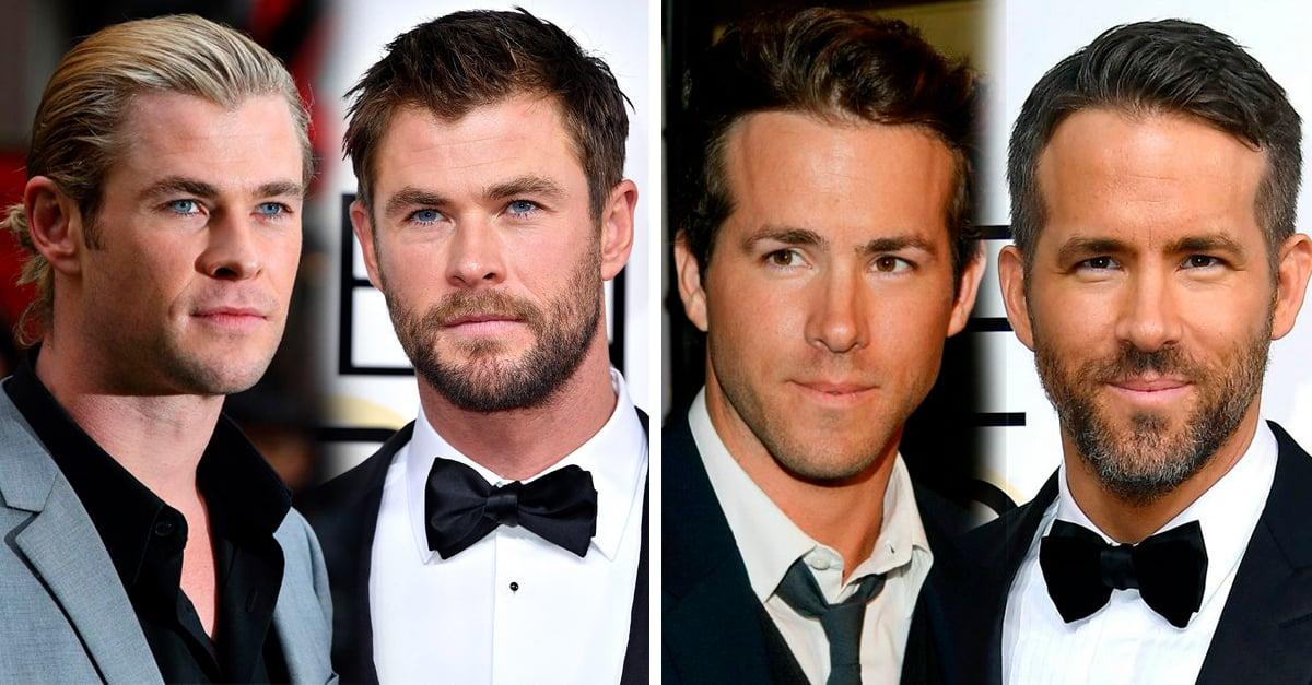 20 Celebridades que prueban que los hombres se ven más guapos con barba
