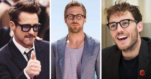 famosos sexis con lentes