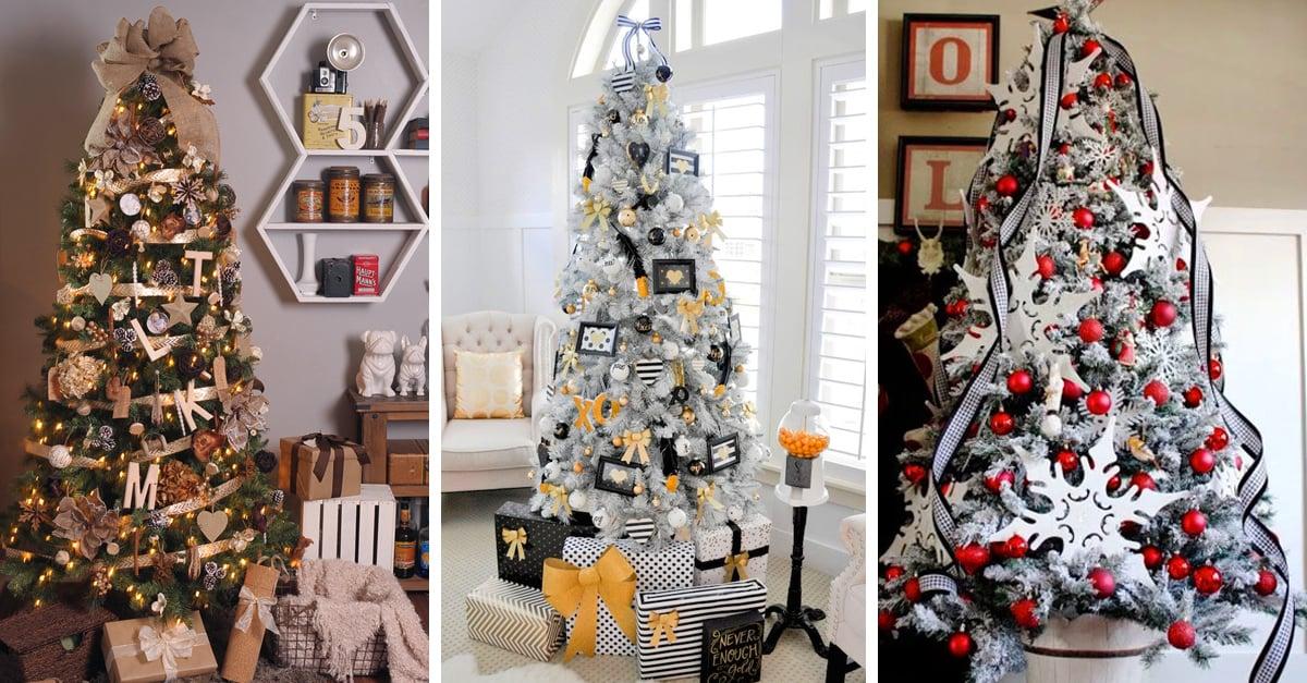 10 Ideas Para Cambiar La Decoracion De Tu Arbol De Navidad