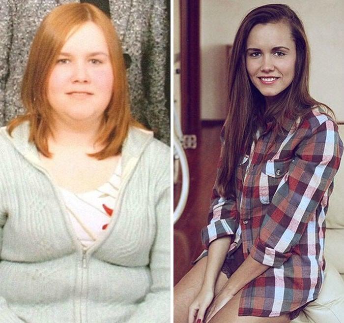 impactante perdida de peso
