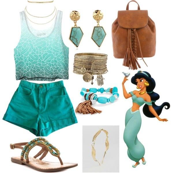 outfit princesa jasmine