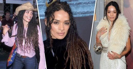 20 Imágenes de la evolución de estilo de Lisa Bonet, nuestra chica boho favorita