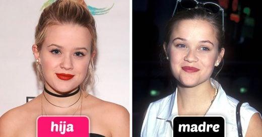 15 celebridades que lucen igual que sus hijas