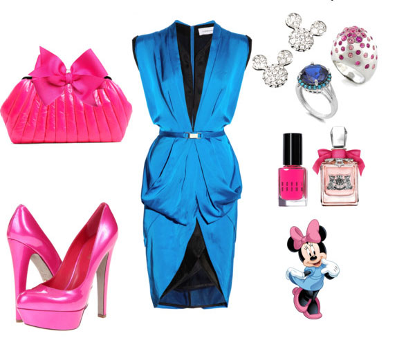 outfit inspirado en minnie mouse