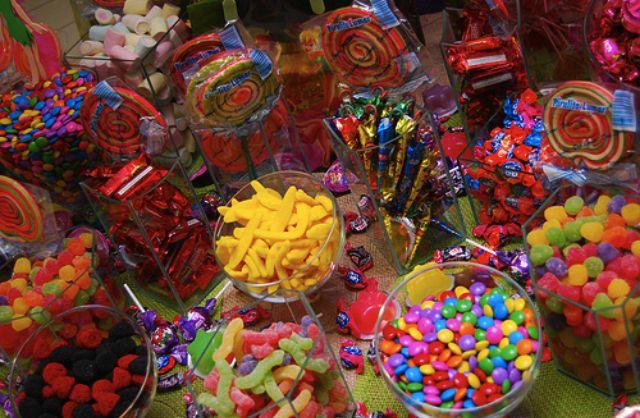 muchos dulces