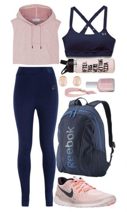 outfit para hacer ejercicio