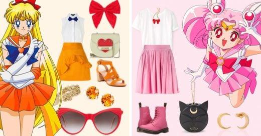 Atrévete a llevar estos oufits inspirados en las Sailor Scouts