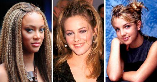 26 Peinados de los noventa que solo las chicas de los 90 recordarán