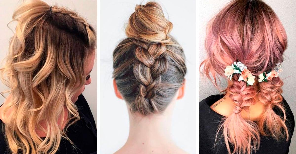 15 peinados que puedes hacer con tu cabello medio