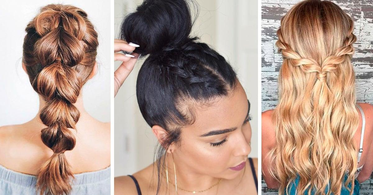 Peinados fáciles y rapidos