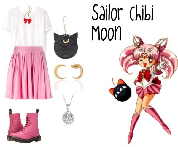 Outfit inspirado sailor chibi moon