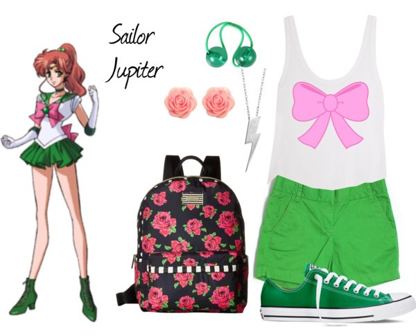 Outfit inspirado sailor jupiter