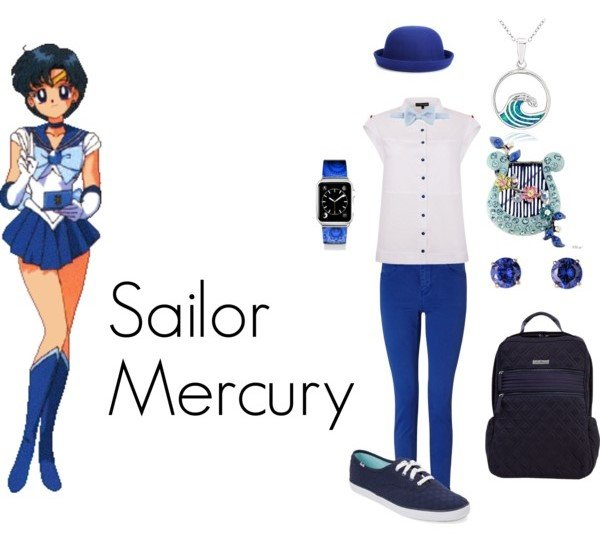 Outfit inspirado sailor mercury