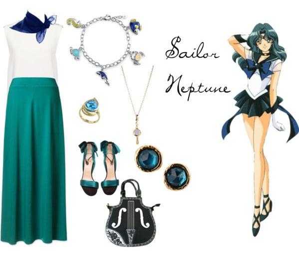 Outfit inspirado sailor neptune