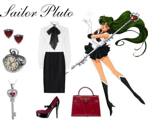 Outfit inspirado sailor pluto