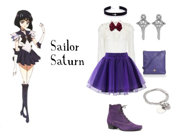 Outfit inspirado sailor saturn