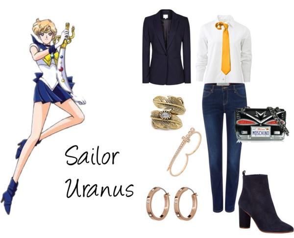 Outfit inspirado sailor uranus