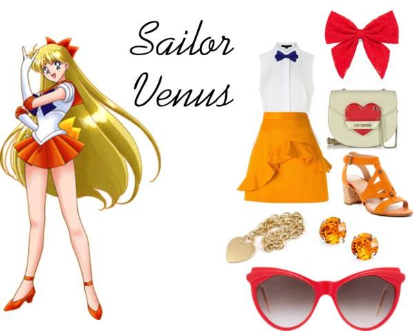 Outfit inspirado sailor venus