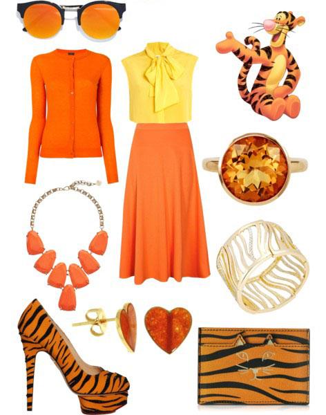 estilo inspirado en tiger