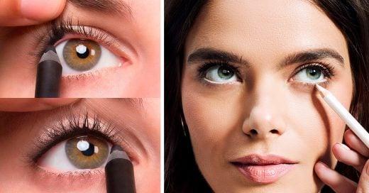 10 Trucos de maquillaje para que tus ojos luzcan más grandes