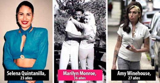 15 Imágenes que muestran los últimos días de vida de estas famosas