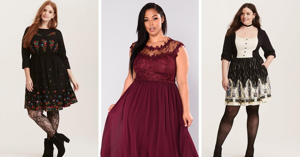 15 Vestidos plus size que puedes usar en las fiestas navideñas