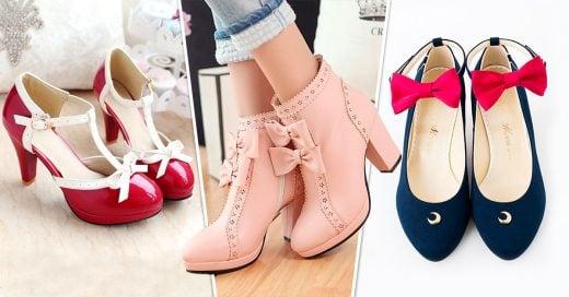 20 Originales pares de zapatos que sacaran a la niña que llevas dentro