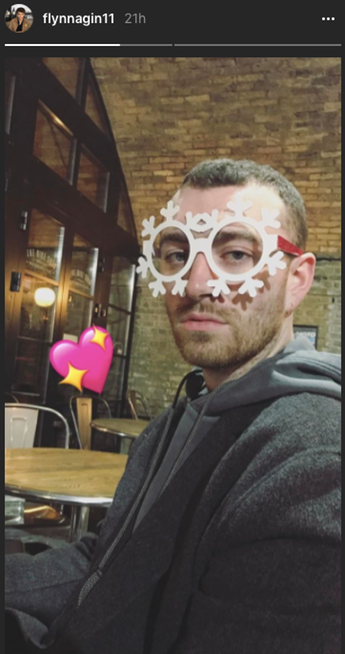 Sam Smith y Brandon Flynn Instagram