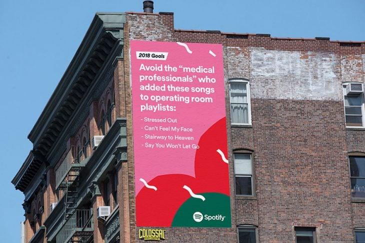 Spotify campaña 2018