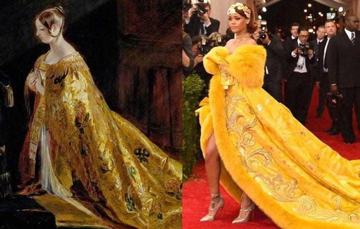 Reina Victoria y Rihanna