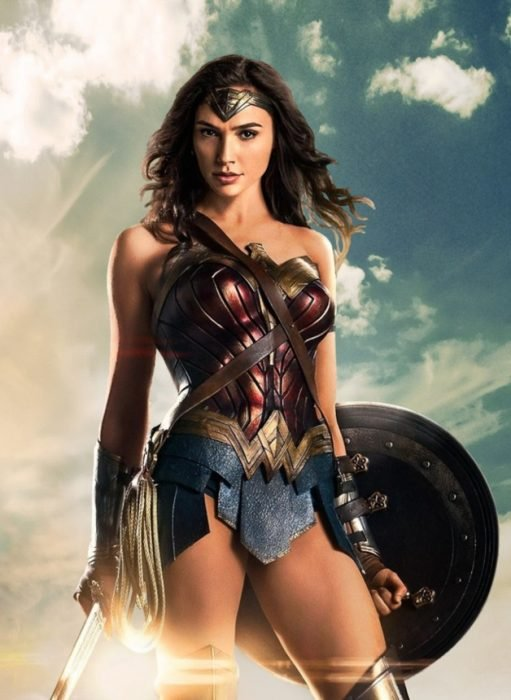 La princesa Diana de Themyscira de Wonder Woman