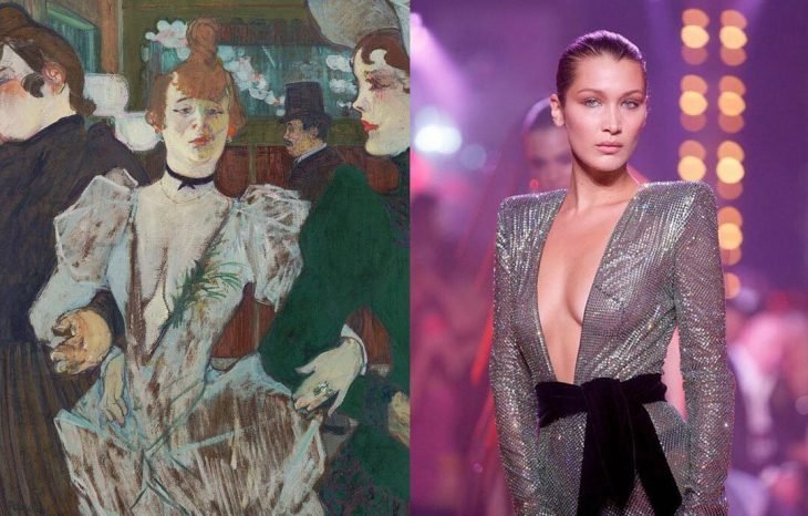 bella hadid y la goulue
