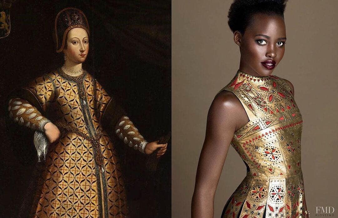 20 prendas de moda inspiradas en pinturas y viceversa - Pinturas de moda ...