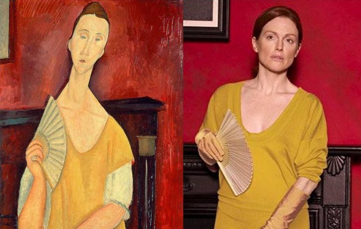 Modigliani y Julianne Moore