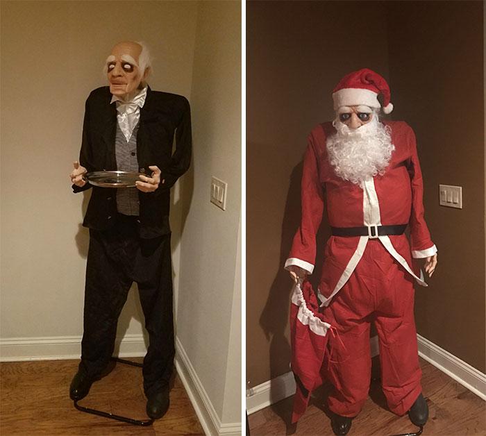 decoracion navideña graciosa