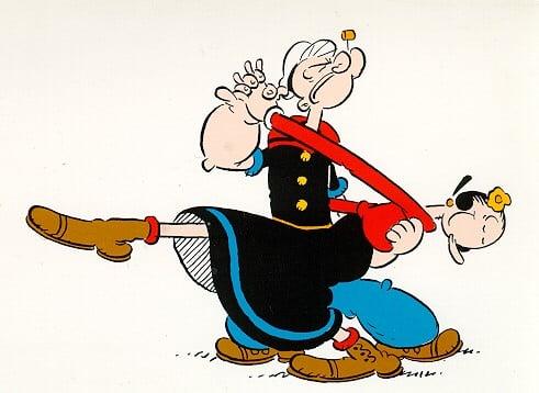 Olivia y Popeye