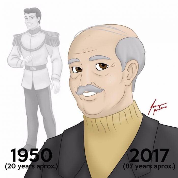 Príncipe Encantador edad actual