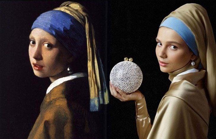 la chica con el arete de perla