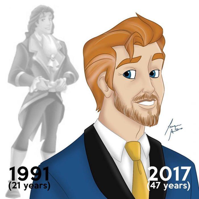 príncipe adam edad actual