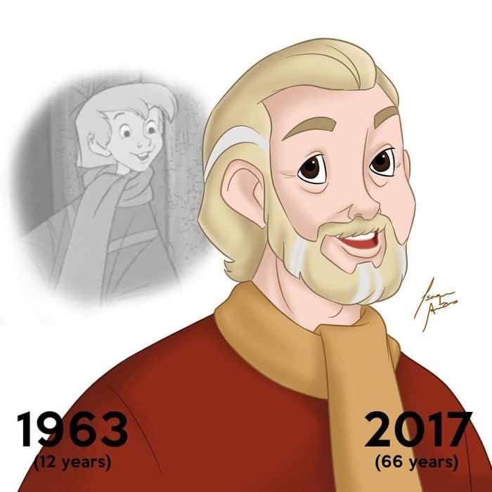 arthur pendragon edad actual