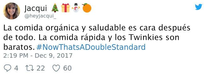 Tuits de doble moral