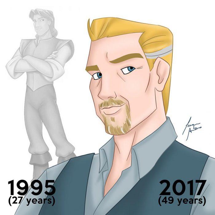 John Smith edad actual