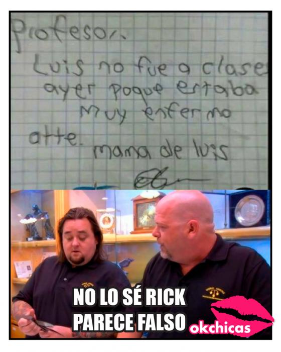 Mejores memes - no lo sé Rick, parece falso