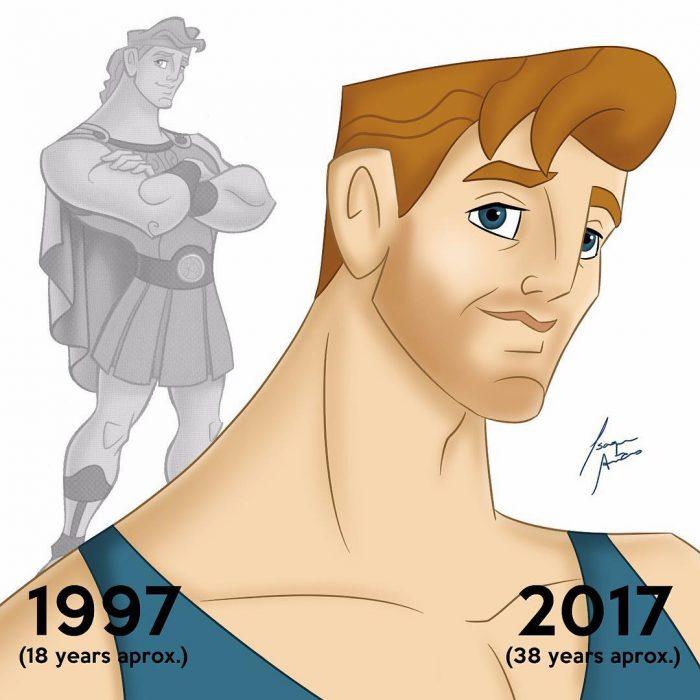 Hércules edad actual