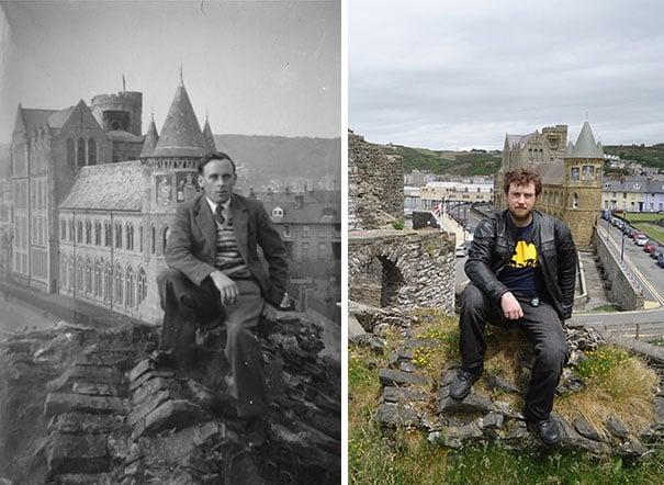 Recreando fotos antiguas