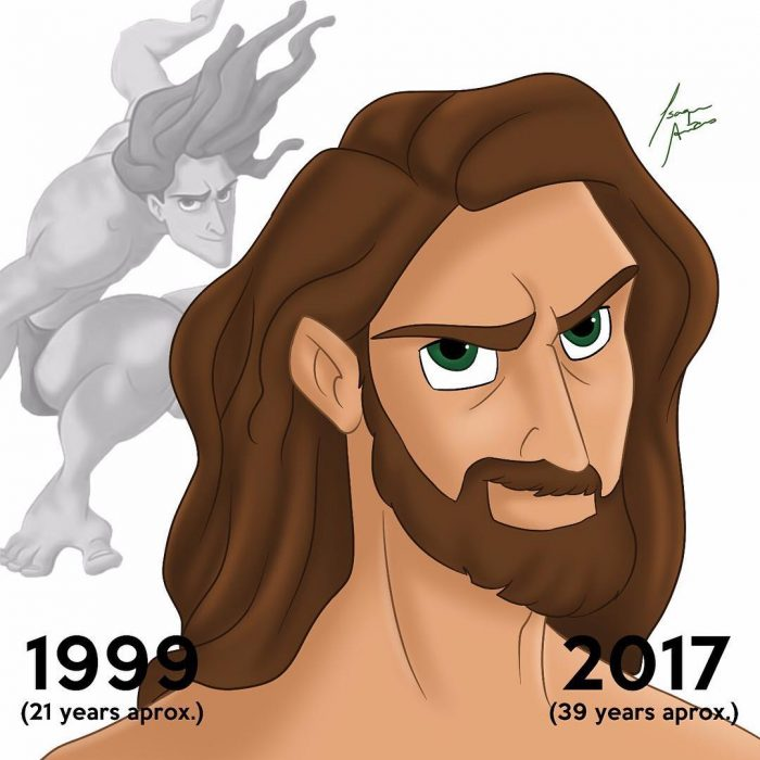 Tarzan edad actual