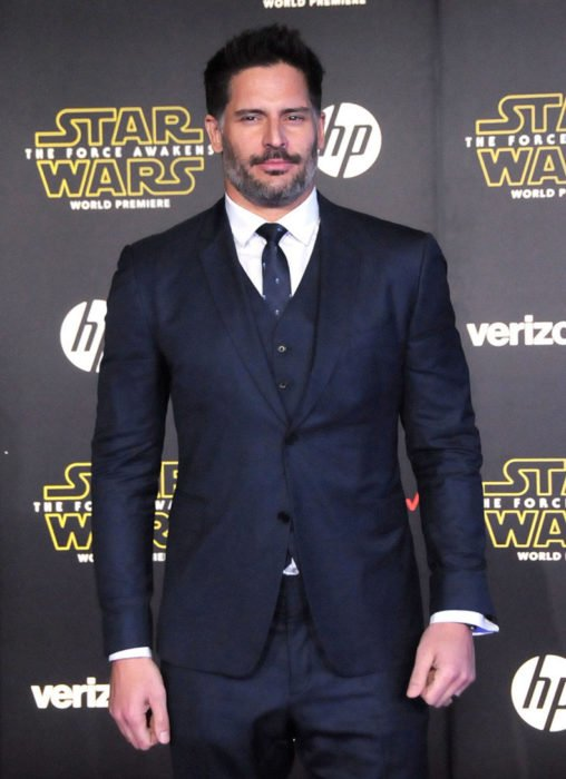 Joe Manganiello durante una alfombra roja de Star Wars