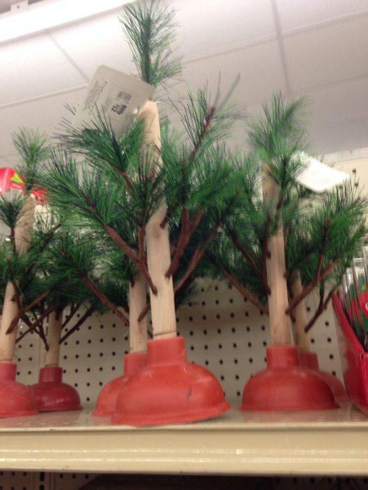 decoracion graciosa de navidad