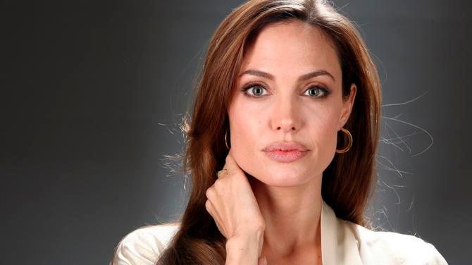 Angelina Jolie en la presentación de su nueva película