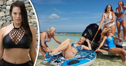 Ashley Graham lanza la colección de bikinis más cool;